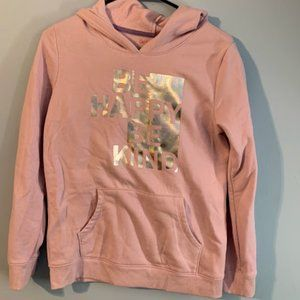 Girls C & J Sweatshirt Size XL Color Pink Silver